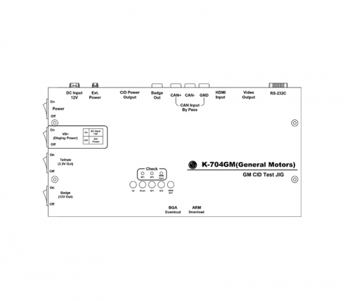 CID PG/Distributor/Dummy Box/Simulator